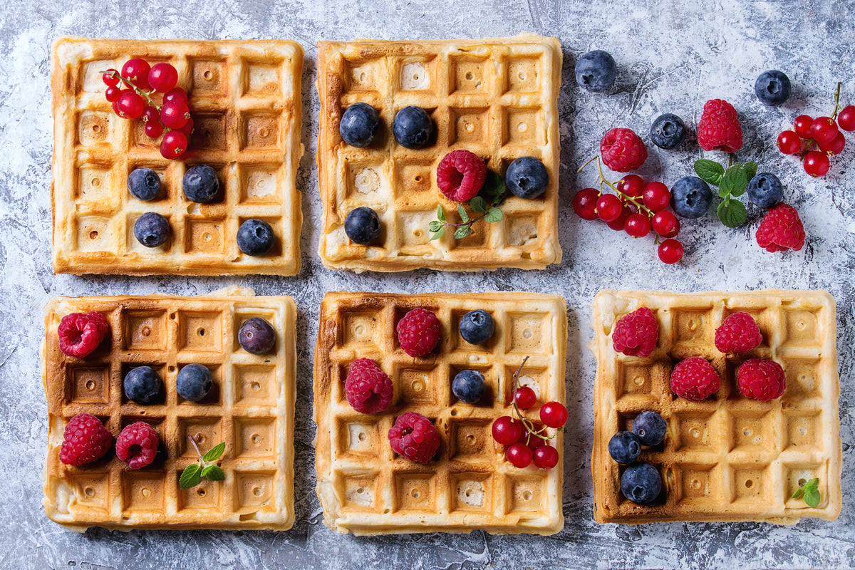Low-carb Waffeln