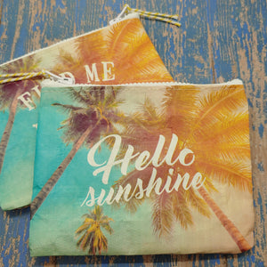 | CLEARANCE | Change Nothing Zipper Purse - Cottage and Thistle
