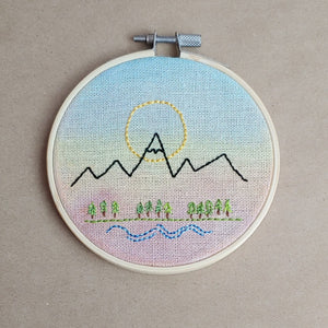 Mountain Love - Cottage and Thistle