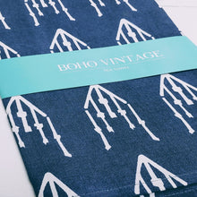 Load image into Gallery viewer, NEW ARRIVAL | Temple Blue Tea Towels (Set/2) - Cottage and Thistle