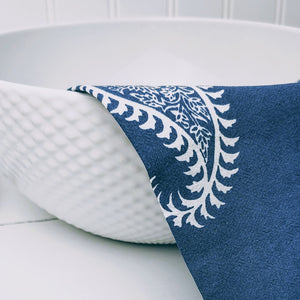 NEW ARRIVAL | Night Paisley Tea Towels (Set/2) - Cottage and Thistle