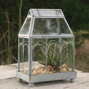 Archway Glass Terrarium - Cottage and Thistle
