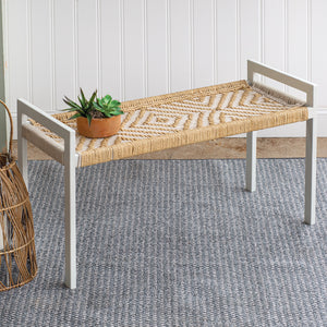 The Woven Way Bench - Cottage and Thistle