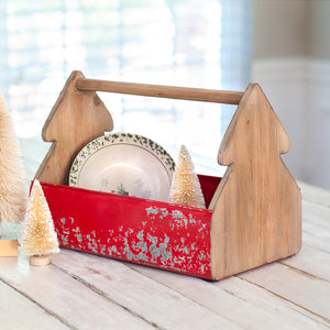 Christmas Tree Tool Caddy - Cottage and Thistle