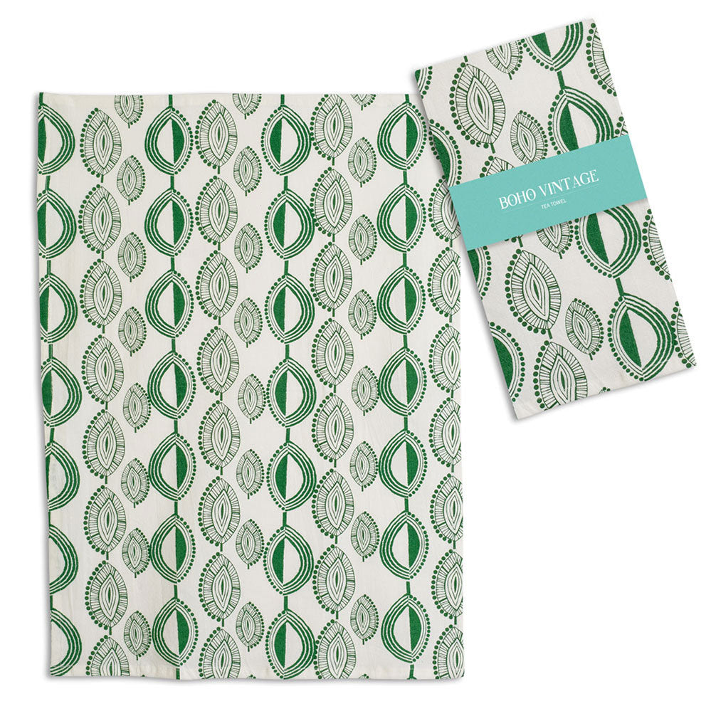 Boho Piper Tea Towels (Set/2) - Cottage and Thistle