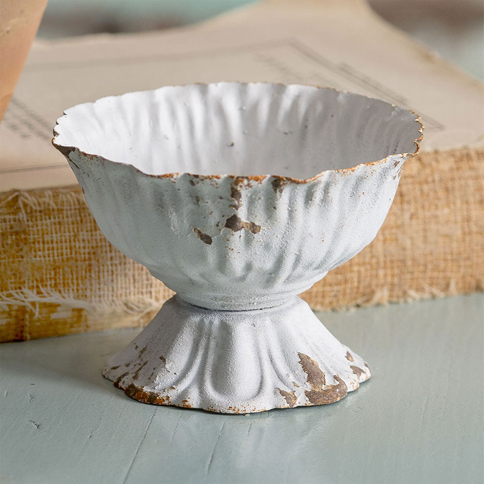 Distressed Mini Daisy Cup (Set/2) - Cottage and Thistle