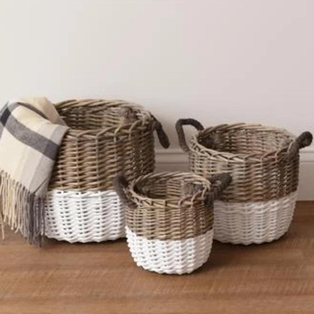 | NEW ARRIVALS | Prairie Potter Baskets Set/3