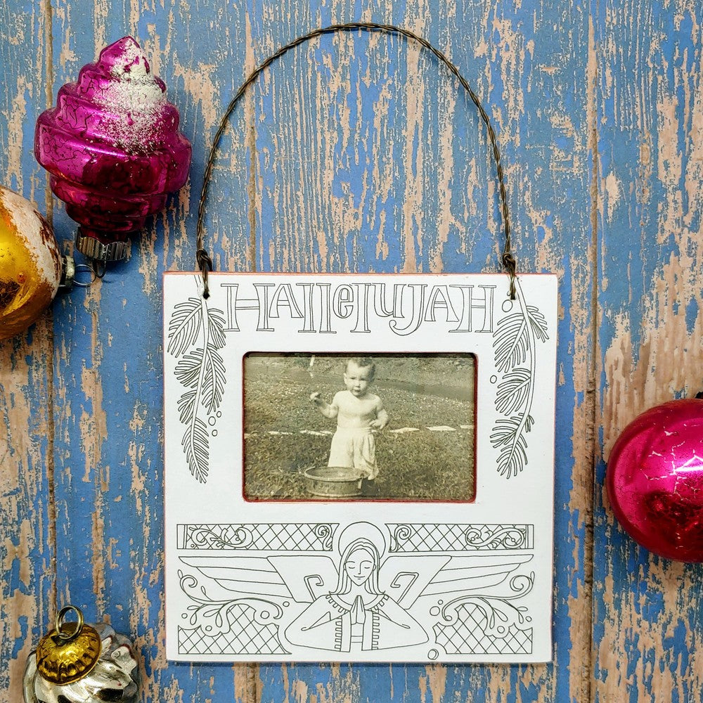 Hallelujah Frame Ornament (BOGO Clearance!) - Cottage and Thistle