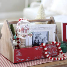 Load image into Gallery viewer, Christmas Tree Tool Caddy - Cottage and Thistle
