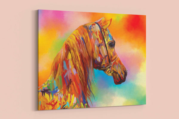 Arabesque Wall Canvas - Equestrihome