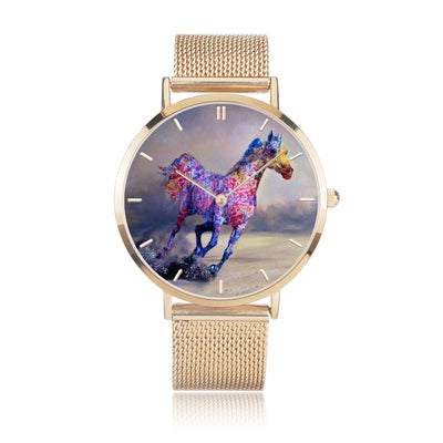 Destiny Race - Luxury Steel Horse Watch