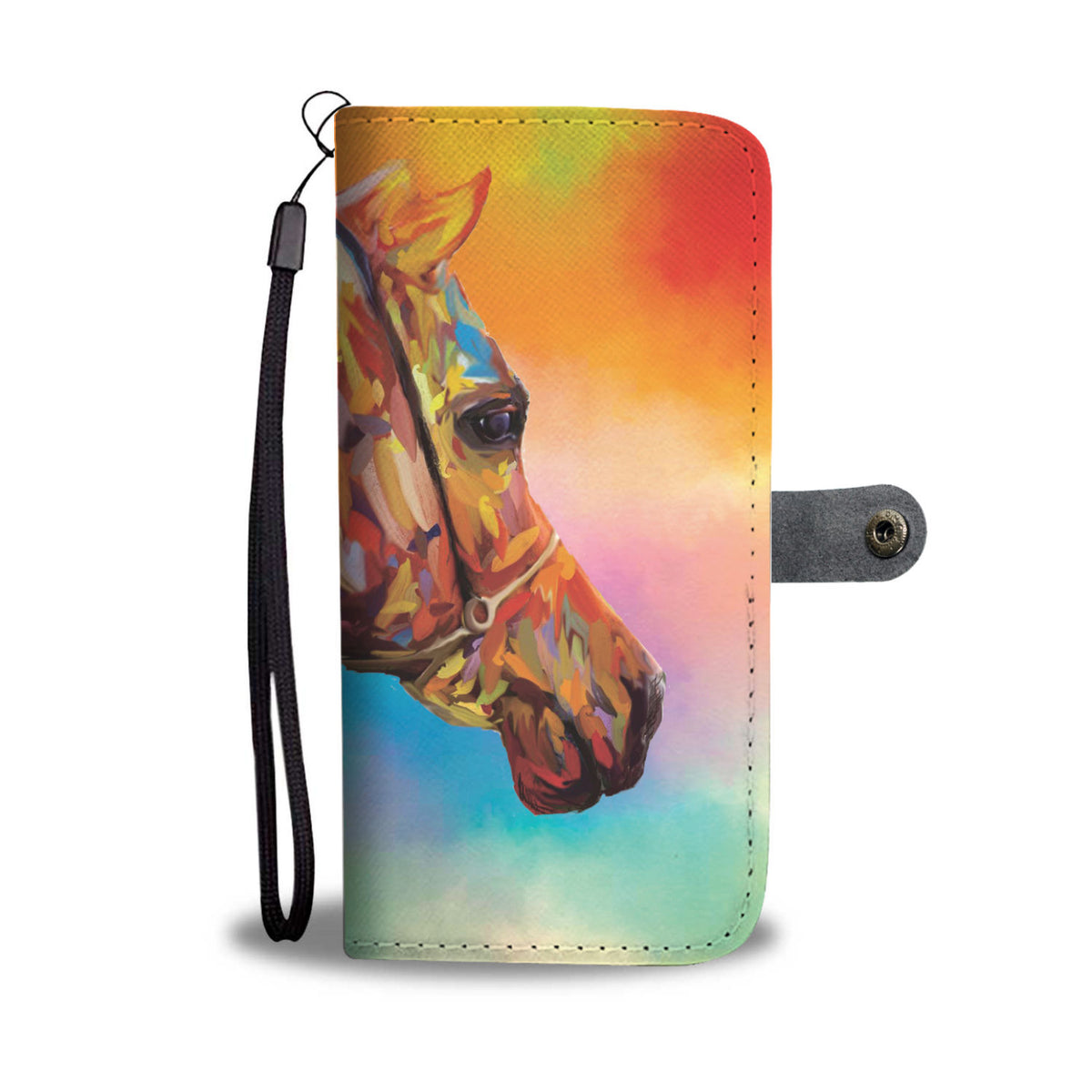 Arabesque - Horse Wallet Case