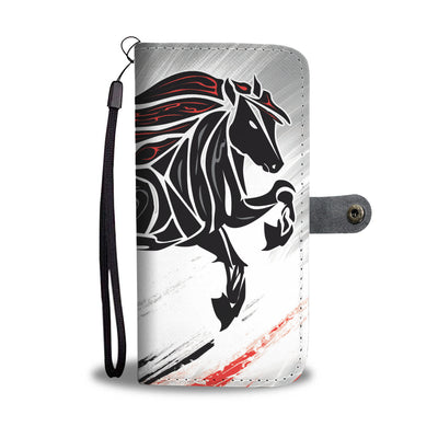 Wild Flame - Horse Wallet Case