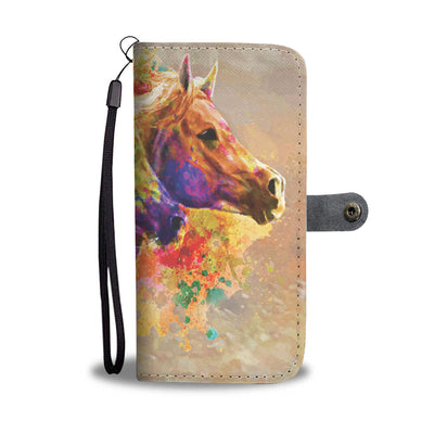 Together Forever - Horse Wallet Case