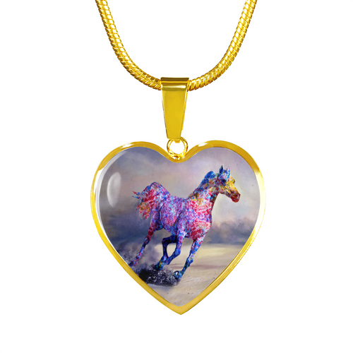 Destiny Race - Horse Gold Necklace