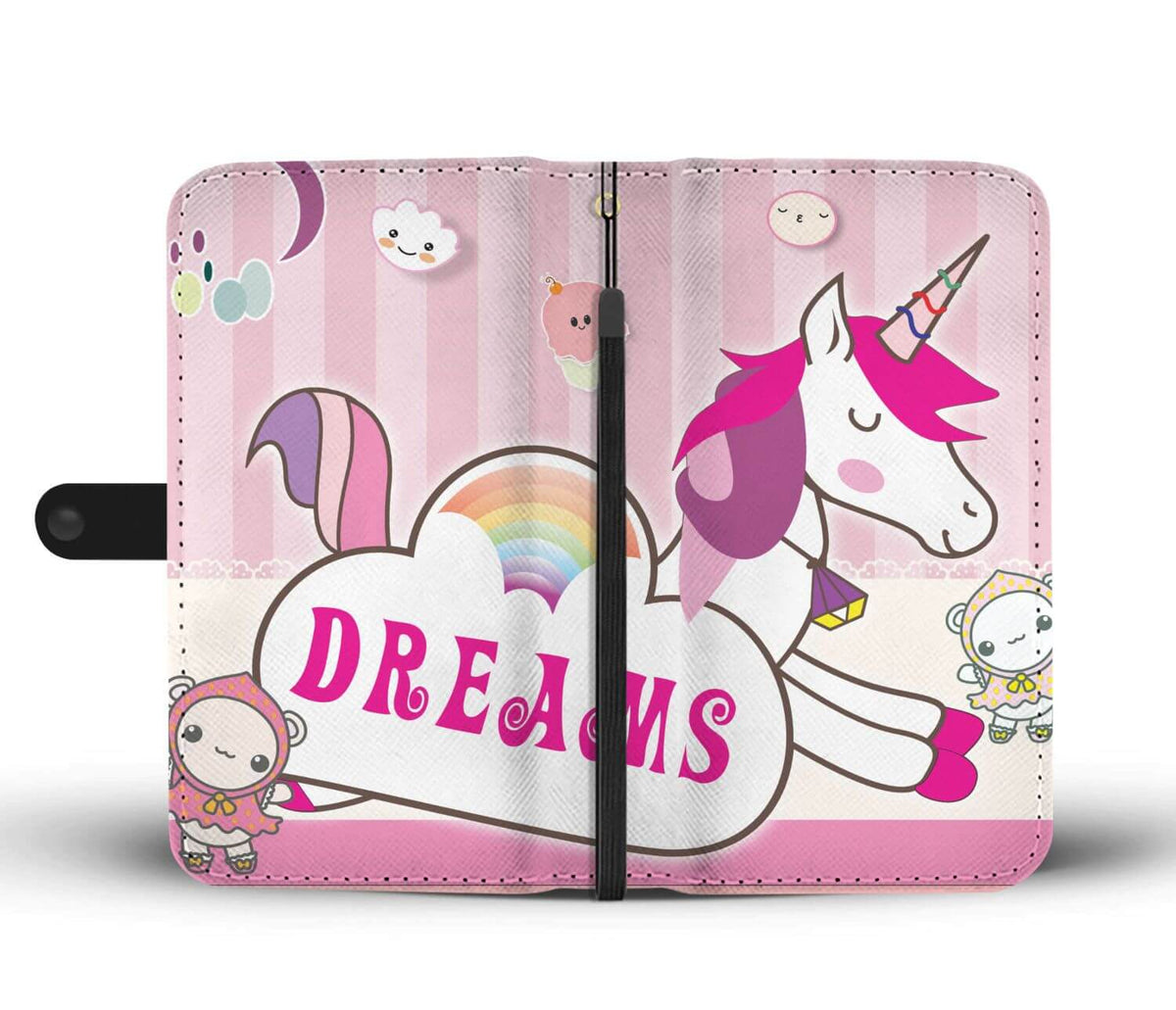 Kawaii Story - Unicorn Wallet Case