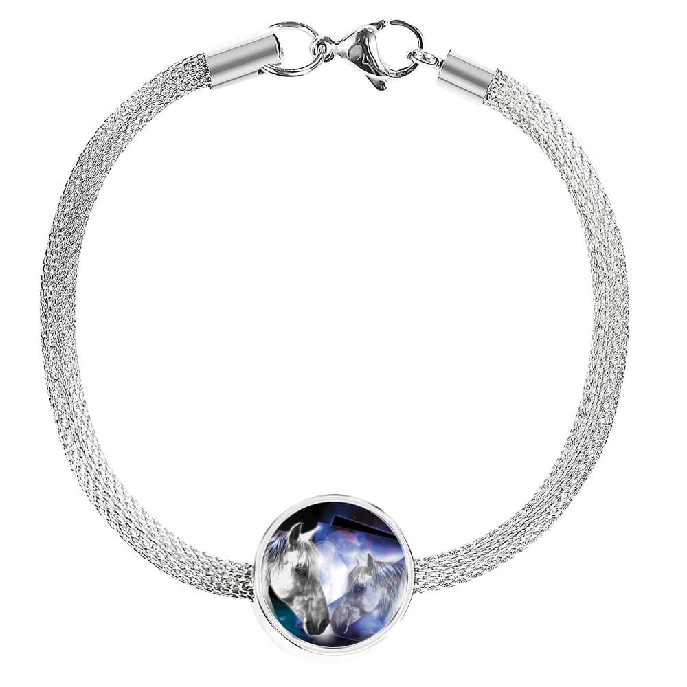 Moonlight Beauty - Horse Bracelet & Charm
