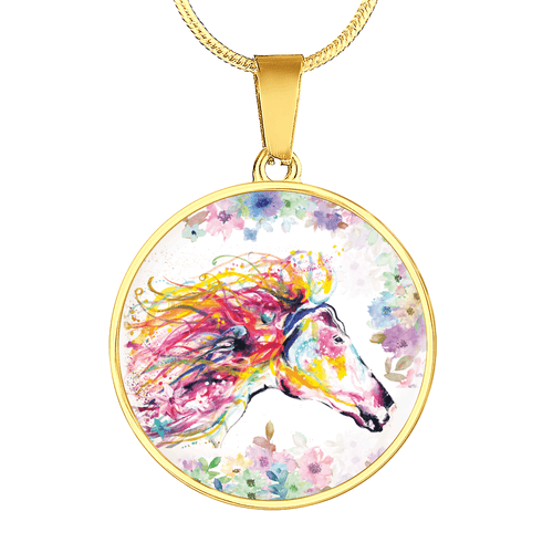 Primavera - Horse Gold Necklace