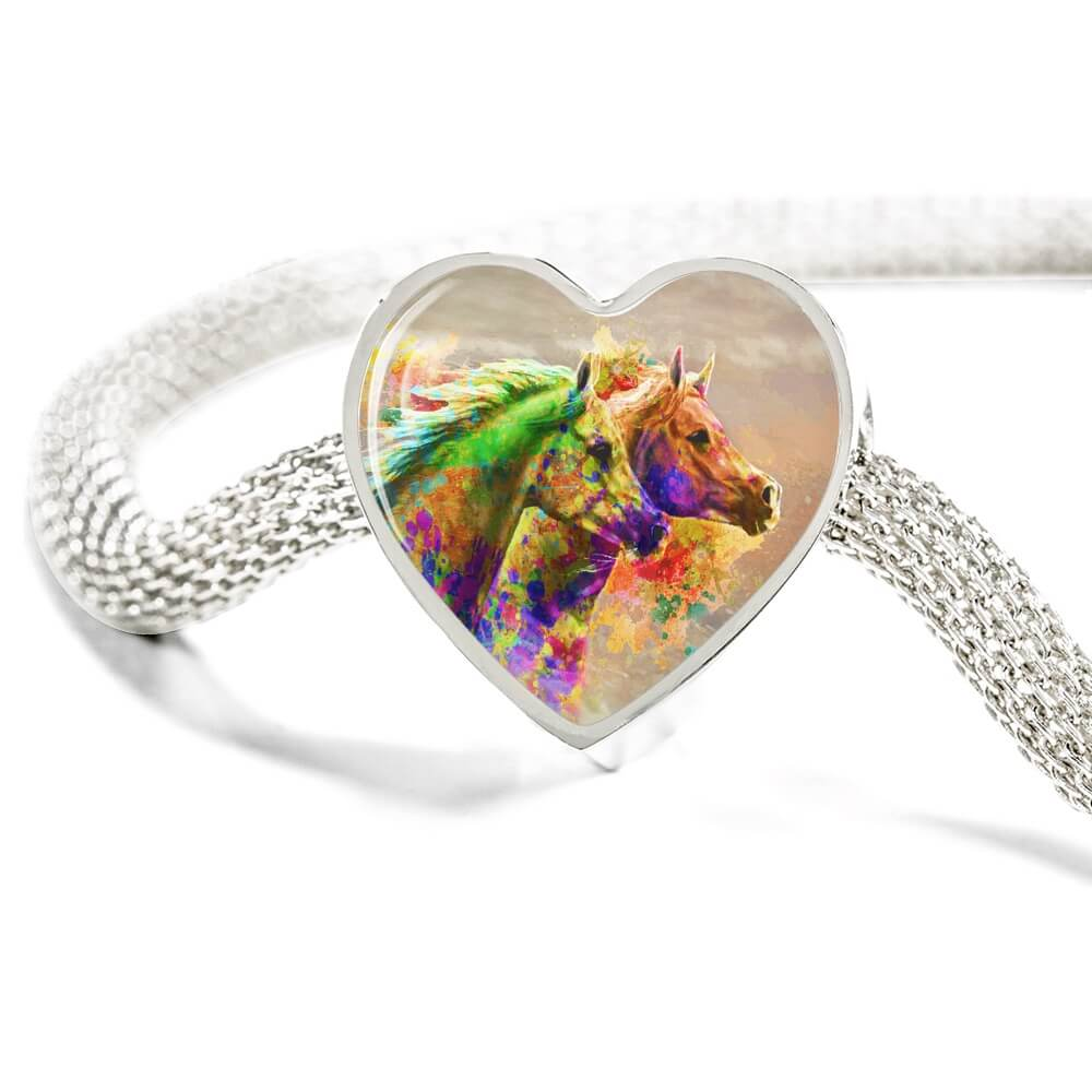Together Forever - Horse Bracelet & Charm