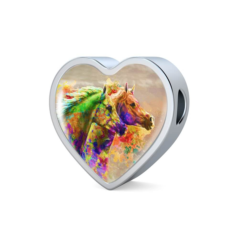 Together Forever - Horse Charm