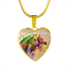 Together Forever - Horse Gold Necklace