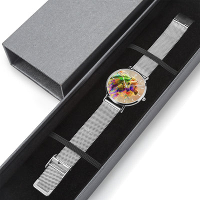 Together Forever - Luxury Steel Horse Watch