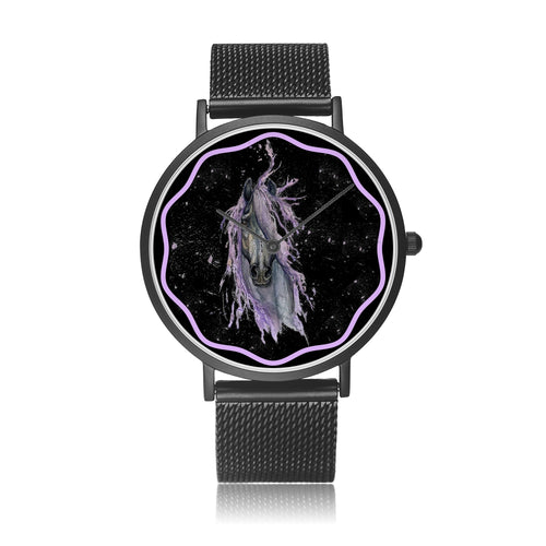 Mystix - Luxury Steel Horse Watch