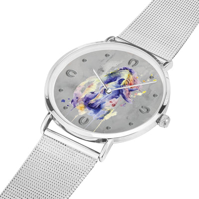 Poema - Luxury Steel Horse Watch