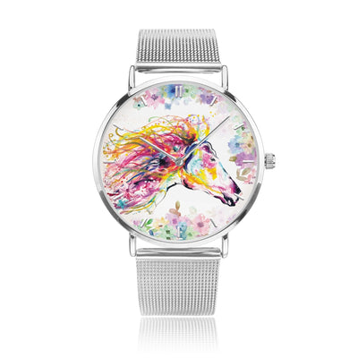 Primavera - Luxury Steel Horse Watch
