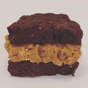 Cookie Dough Brownie Sandwiches- 2 Pack