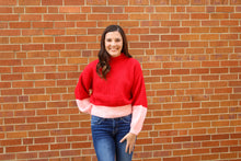 Load image into Gallery viewer, Knit Colorblock Sweater - Simply L Boutique
