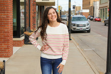 Load image into Gallery viewer, Chic Striped Sweater - Simply L Boutique
