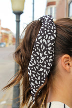 Load image into Gallery viewer, Black & White Hair Scarf - Simply L Boutique