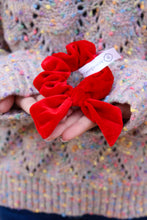 Load image into Gallery viewer, Red Velvet Scrunchie - Simply L Boutique