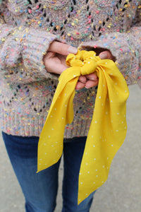 Mustard Hair Scarf - Simply L Boutique