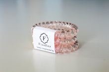 Load image into Gallery viewer, Clear Light Pink Hair Ties - Simply L Boutique