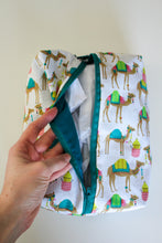 Load image into Gallery viewer, Colorful Camels Utility Bag - Simply L Boutique
