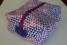 Load image into Gallery viewer, Purple Triangle Utility Bag - Simply L Boutique