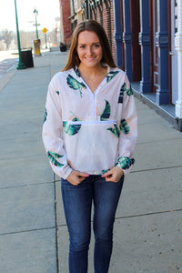Palm Breeze Windbreaker - Simply L Boutique