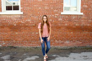 Blush Me Pink Textured Top - Simply L Boutique