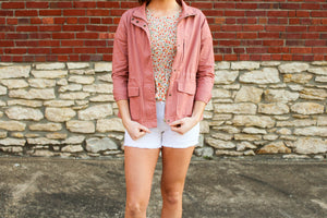 Adventure Awaits Utility Jacket - Simply L Boutique