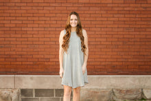 Load image into Gallery viewer, Grey Basic Swing Dress - Simply L Boutique