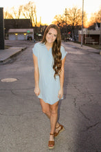 Load image into Gallery viewer, Chambray All The Way Dress - Simply L Boutique