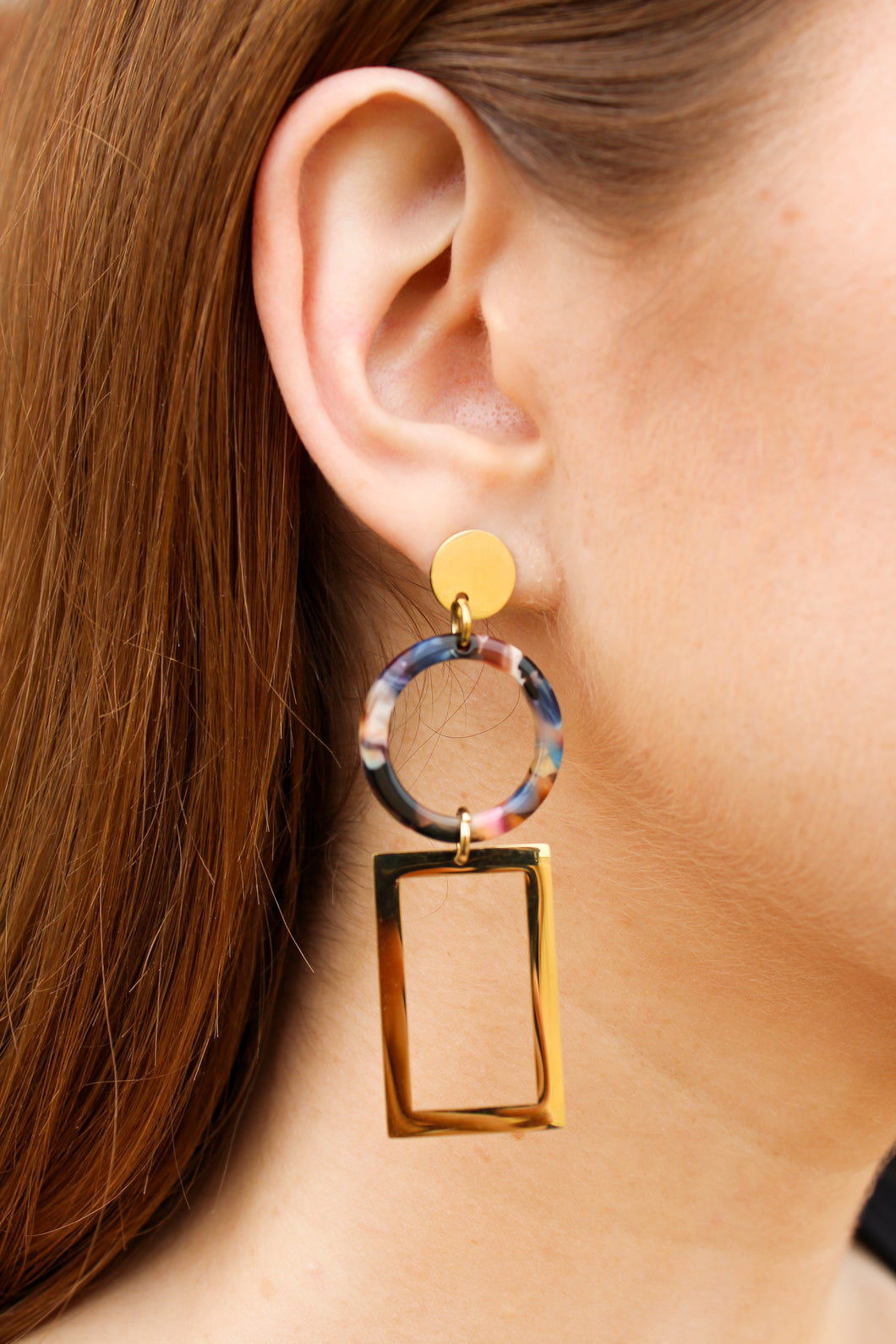Party Pendant Hoops - Simply L Boutique