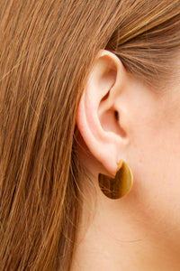 Ms. Pacman Gold Earrings - Simply L Boutique