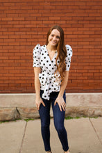 Load image into Gallery viewer, Dot To Dot Polka Dot Top - Simply L Boutique