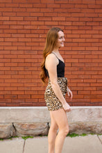 Load image into Gallery viewer, Black Leopard Romper - Simply L Boutique