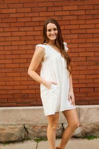 Eyelet Baby Doll Dress - Simply L Boutique
