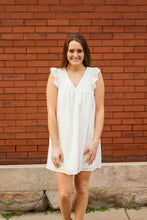 Load image into Gallery viewer, Eyelet Baby Doll Dress - Simply L Boutique