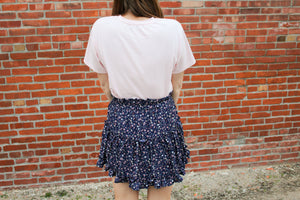 Ruffle Me Floral Skirt - Simply L Boutique